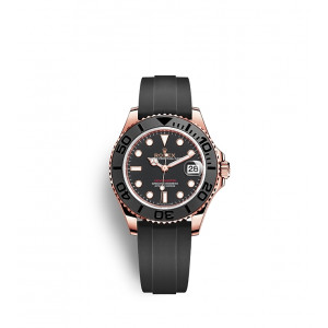 Yacht Master Rubber Rose Gold 18k