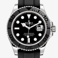 Yacht Master Rubber Silver