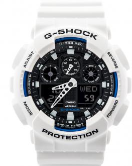 G Shock White Black Dial 2020