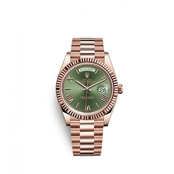 Day Date 40 all rose gold