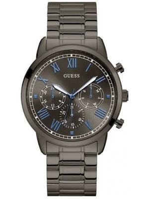 Guess Round Analog Grey Dial Gents Watch Original