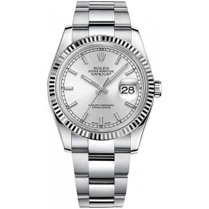 Date Just Silver Dial For Men